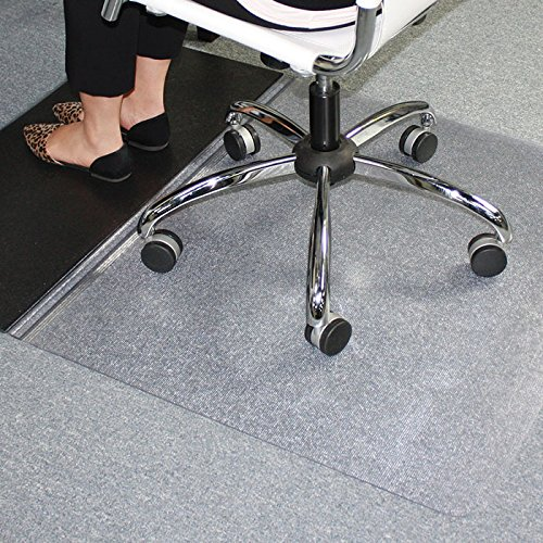 ES Robbins Sit or Stand Mat for Carpet or Hard Floors with Lip, 36