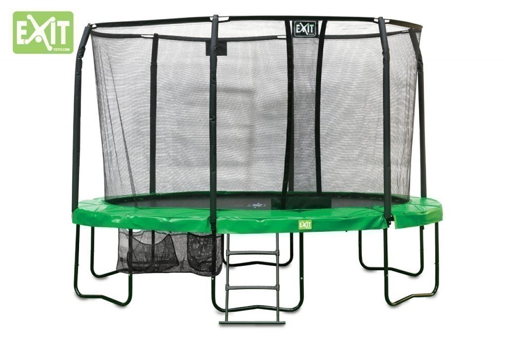 baumarkt direkt Trampolin »Trampolin EXIT Oval JumpArenA All-in 1 244x380 cm« 87.5 cm