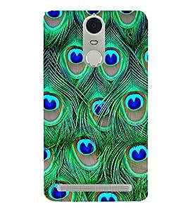 Peacock Wall Design 3D Hard Polycarbonate Designer Back Case Cover for Lenovo Vibe K5 Note