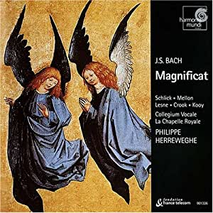 J.S. Bach - Magnificat BWV 243 / Schlick · Mellon · Lesne · Crook · Kooy · La Chapelle Royale · Collegium Vocale · Herreweghe