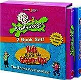 Spinner Books For Kids - 2 Vol. Slipcase Edition (Totally Gross & Kids Battle The Grown-Ups)