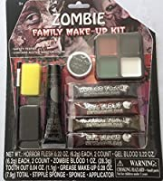 Zombie Family Make-up Kit by Midwood Brands