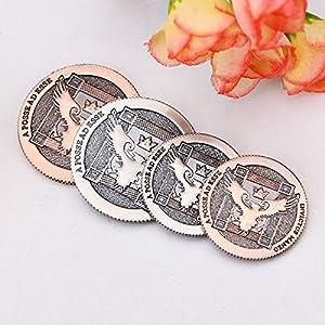 Magic Props Ellusionist_Artifact Coins Magic Tricks Toys