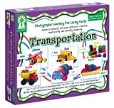 Transportation [With 6 Lacing Cards and 6 Vehicle Word Tags, Multicolored Laces]
