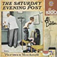MasterPieces Saturday Evening Post Norman Rockwell At The Doctor's Jigsaw Puzzle, 1000-Piece
