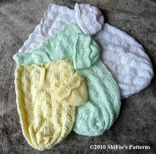 Cuddle Sac Papoose Baby Knitting Pattern 133 UK