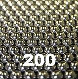 """200 qty 1/2"""" Inch Steel Shot Slingshot Ammo Balls"""