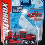 Matchbox MBX Red Road Grader