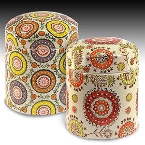 Signes grimalt 2 barattoli colorati ceramica 16 cm 63496sg casa e cucina - Barattoli cucina colorati ...