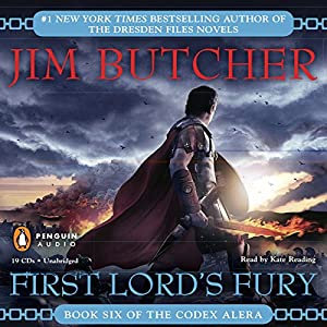 First Lord's Fury: Codex Alera, Book 6 by Jim Butcher