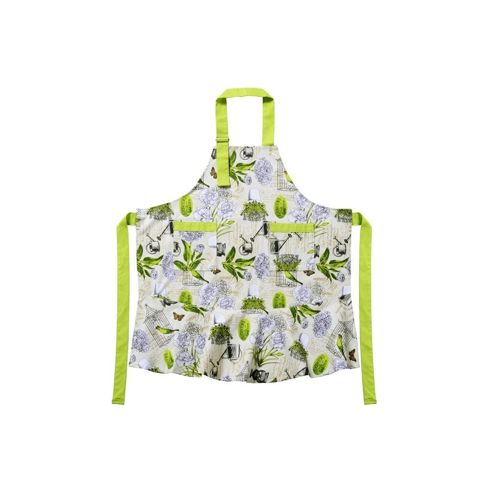Housewife Vintage Bib Anthropologie Grilling Chef Girl Postoral Style Kitchen Cooking Aprons for Women, Perfect for Gift 1