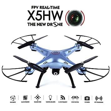 GoolRC Drone Wifi FPV 0.3MP HD Caméra RC Quadcopter avec Fonction de Maintien d'Altitude et Bascule à 360 Degrés & CF Mode