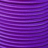 """1/4"""" Elastic Cord Beading Crafting Stretch String with Various Colors - Choose from 10, 25, 50, and 100 Feet, Made in USA"""