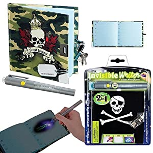 Toysmith Invisible Writer Journals - Mysterious Journal