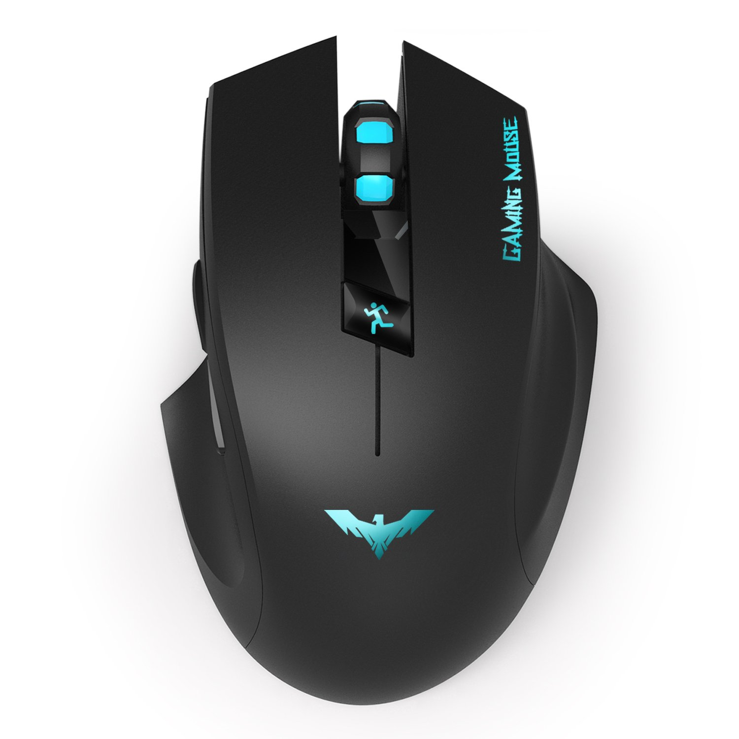 HAVIT HV-MS976GT 2.4GHz Wireless Ergonomic Gaming Mouse for PC/Computer/Laptop