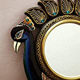 RajLaxmi's Peacock Wall Mirror For Home/Peacock Wall Mirror / Wall Decorative / Wall Mirror / Vintage Mirror /...