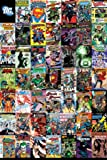 DC Comics Montage Maxi Poster 61cm x 91.5cm A Collection Of Comic Book Covers Featuring Everyone's Favorite Super Heroes