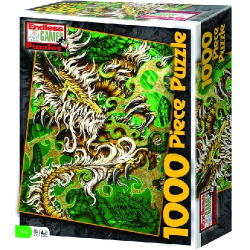 Rod Fuchs Dragon 1000pc Jigsaw Puzzle - 1