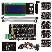 サインスマート RAMPS 1.4 3Dプリンタをはじめようキット(Breakoutボード SD + A4988 + LCD2004コントロールパネル for Arduino RepRap )詳細なチュートリアルPDF提供...