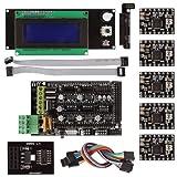 サインスマート RAMPS 1.4 3Dプリンタをはじめようキット(Breakoutボード SD + A4988 + LCD2004コントロールパネル for Arduino RepRap )詳細なチュートリアルPDF無料提供!