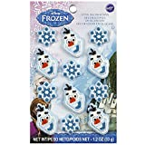Wilton Industries 710-4500 12 Count Disney Frozen Icing Decorations