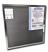 18x30x1 Electrostatic AC Furnace Air Filter Silver 94% Arrestance. Lifetime Warranty. Never Buy a New Filter