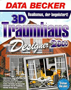 3d traumhaus designer 2000 software for Diseno de interiores 3d data becker