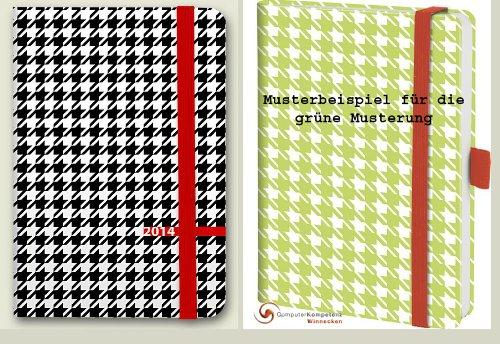 Brunnen Buchkalender Strato A5 Kalender 2014 schwarzer oder grüner Einband
