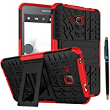 Tab A 7.0 Case DWaybox Armor 2in1 Combo Hybrid Rugged Heavy Duty Hard Back Cover Case with kickstand for Samsung Galaxy Tab A 7.0 Inch 2016 SM-T280 / T285 / Samsung Tab A6 7.0