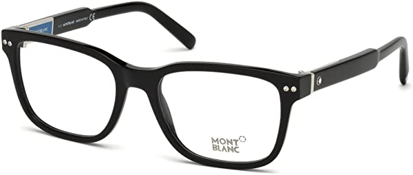 Eyeglasses Montblanc MB 0705 001 shiny black