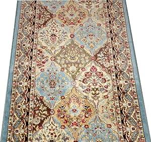 Amazon Com Dean Panel Kerman Cloude 31 Quot W Carpet Rug