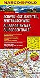 MARCO POLO Karte Schweiz, Östlicher Teil, Zentralschweiz 1:200.000 (MARCO POLO Karte 1:200000)