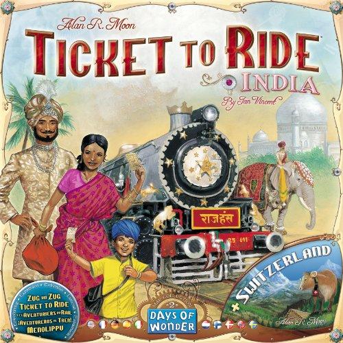 チケット・トゥ・ライド:インド拡張セット(Ticket to Ride: INDIA)
