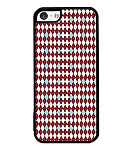 iFasho Animated Pattern design colorful in royal style Back Case Cover for Apple iPhone 5C