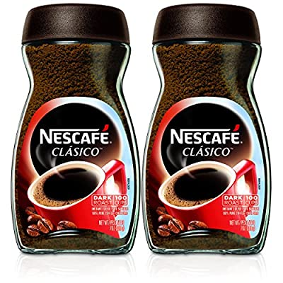 Nescafe Clasico Instant Coffee,7 Ounce (Pack of 2) by Nescafe