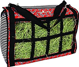 Classic Equine Top Load Hay Bag - Prints - Flower Stripes