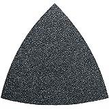 Fein 63717 083015 Feuille abrasive triangulaire Non perforée Grain P 80 (Import Allemagne)