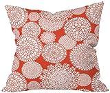 DENY Designs Heather Dutton Delightful Doilies Saffron Throw Pillow, 26 x 26