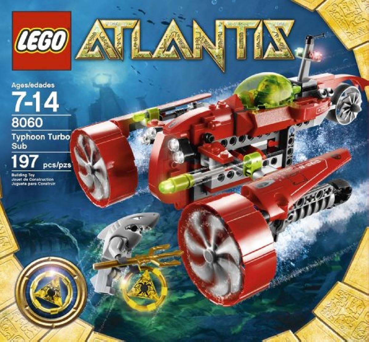 [해외] LEGO ATLANTIS TYPHOON TURBO SUB (8060)