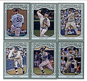 2013 Topps Gypsy Queen Detroit Tigers Baseball Cards Team Set (12 Cards in Protective... by Gypsy+Queen