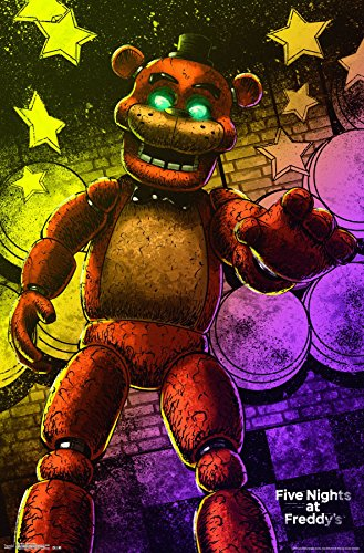 Five Nights Freddy Artwork