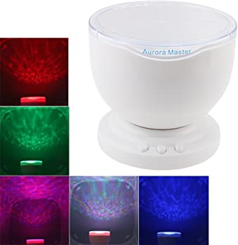 Tupelo Aurora Projector Ocean RGB Lamp