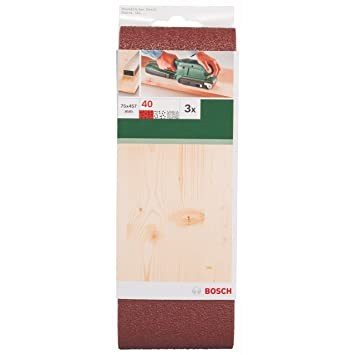 bosch 2609256204 diy schleifband 75 x 457 mm g40 holz ungelocht gespannt 3 dee618. Black Bedroom Furniture Sets. Home Design Ideas
