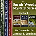 Sarah Woods Mystery Series: Books 1-3 Audiobook by Jennifer L. Jennings Narrated by Erin Coleman