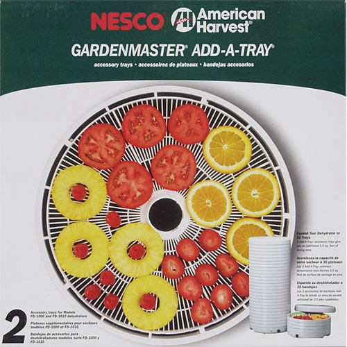 Best Review Of Nesco TR-2 Add-A-Tray for FD-1010/FD-1018P/FD-1020, Set of 2