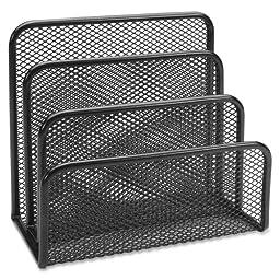 Wholesale CASE of 25 - Lorell Mesh Vertical Desktop File Sorter -Vertical Sorter, 5-5/8\