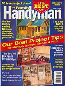 The family handyman june 2008 issue editors of the for Family handyman phone number