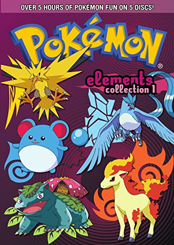 DVD : Pokemon Elements: Collection Part 1 [5 Discs] [Gift Box] (Boxed Set, 5 Disc)