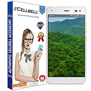 Cellbell TM Reliance Jio LYF Earth 1 9H Premium Tempered glass screen protector with FREE Installation Kit