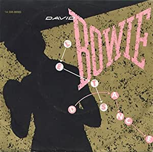 """DAVID BOWIE Let's Dance 7"""""""